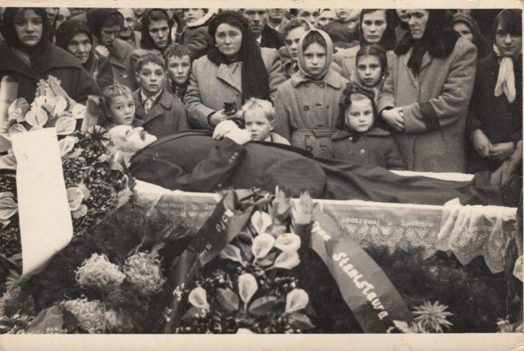Pogrzeb Jana Potakowskiego. 1960 (1)